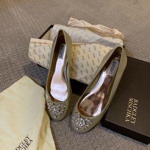 Badgley Mischka – Bianca Embellished Ballet Flat